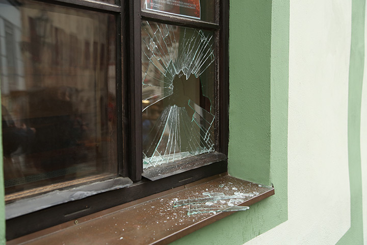 A2B Glass are able to board up broken windows while they are being repaired in Winchester.